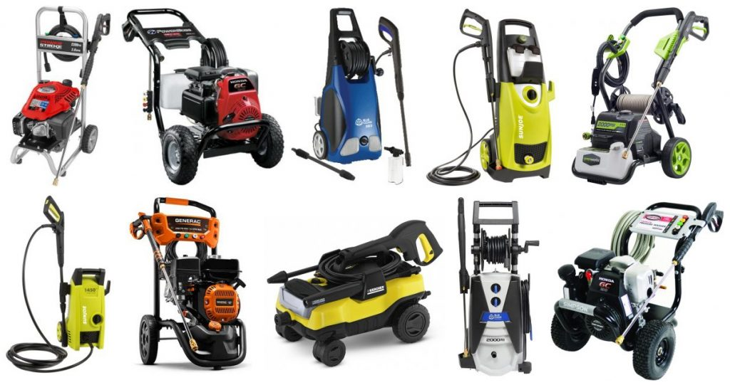 Best Electric Power Washer 2021 Best Pressure Washer 2021   Reviews and Buyer's Guide